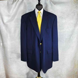 Brooks Brothers 346 wool blazer gold buttons